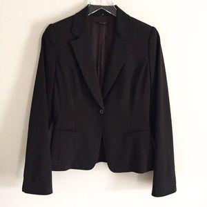 Elie Tahari Single Button Dark Brown Blazer Size 6